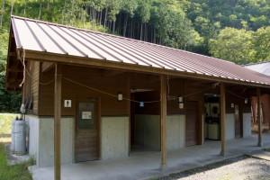 黒木キャンプ場ー第3キャンプ場シャワー・ランドリー棟ー