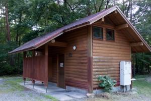 黒木キャンプ場ー第1キャンプ場シャワー室ー