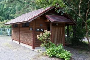 黒木キャンプ場ー第1キャンプ場トイレ棟ー
