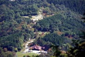大佐山オートキャンプ場ー俯瞰写真ー