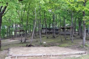 のとろ原キャンプ場ーテントサイトー