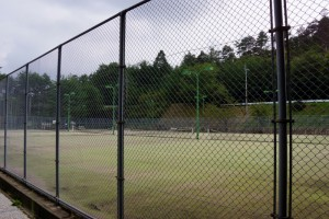 大芦高原温泉雲海ーテニスコートー