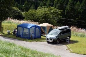 大茅キャンプ場ーキャンプ風景ー
