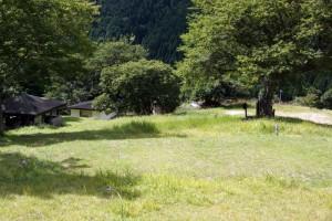 大茅キャンプ場ーテントサイトー