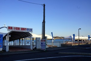 宇野港ー高速船桟橋ー