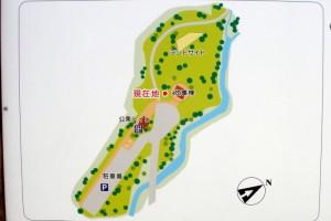 田浪キャンプ場ー案内図ー