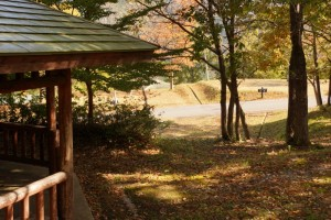たたらの森オートキャンプ場ー休憩舎ー