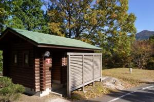 たたらの森オートキャンプ場ートイレ棟ー
