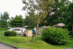 吉井竜天オートキャンプ場ーキャンプ風景ー