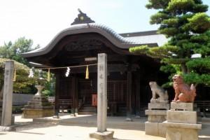 拝殿ー下津井祇園神社ー
