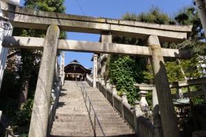 参道ー羽黒神社ー
