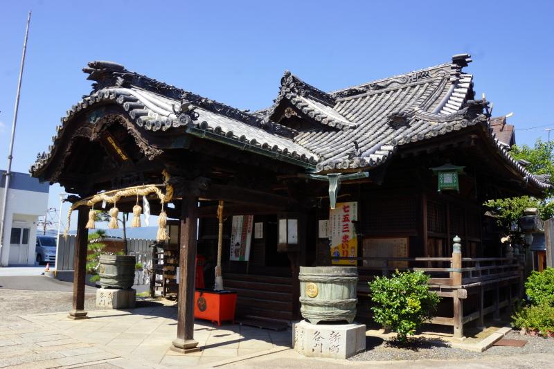 拝殿ー羽黒神社ー