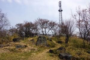 高倉山山頂