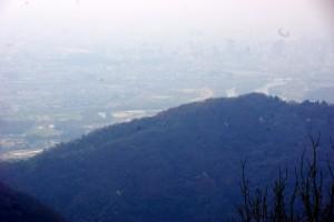 岡山市街方面ー高倉山よりー