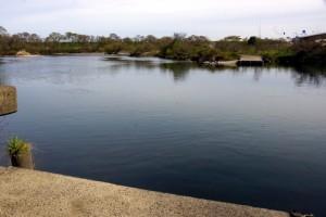 水江の渡し跡
