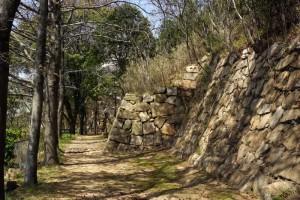 石垣ー下津井城跡二の丸ー