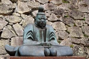森忠政銅像ー津山城主ー