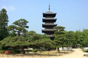 五重塔ー備中国分寺跡ー