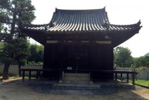 大師堂ー備中国分寺跡ー