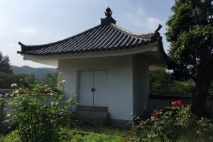 経蔵ー備中国分寺跡ー