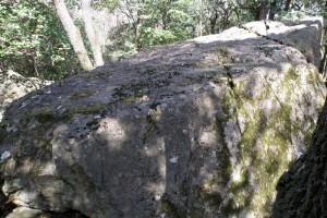 八畳岩磐座ー吉備の中山ー