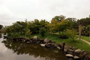 亀島ー吉備津彦神社ー
