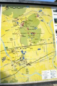 吉備の中山散策地図