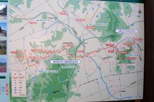 吉備路散策地図