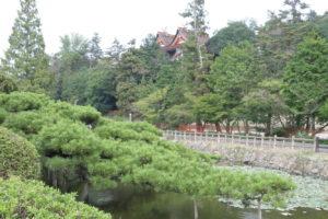 吉備津神社の屋根