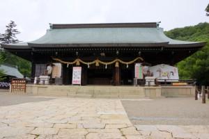 拝殿ー吉備津彦神社ー