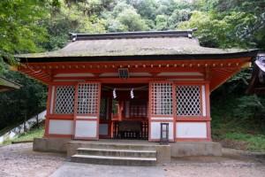 子安神社拝殿ー吉備津彦神社ー