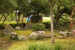 環状列石ー吉備津彦神社ー