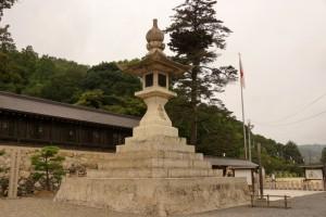 大燈籠ー吉備津彦神社ー
