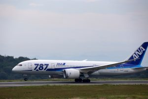ANA787ー岡山空港ー