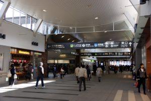 岡山駅東西連絡通路