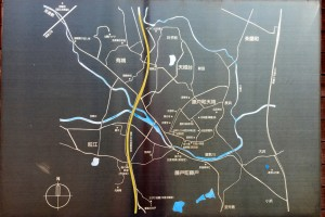 藤戸地区案内図