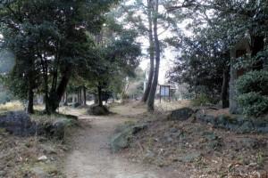 福山城門跡