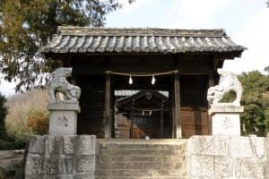 白山神社随神門