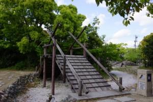 羽根田弁天の橋