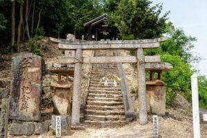 石畳神社参道