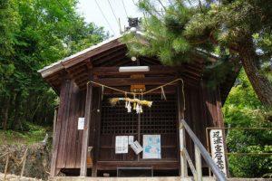 石畳神社拝殿