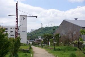 旧備前赤碕駅ー児島風の道ー