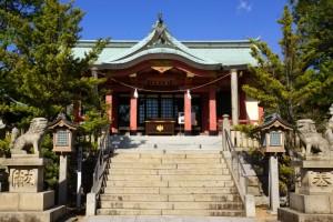 鴻八幡宮拝殿