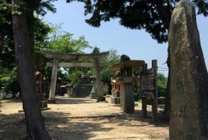 鯉喰神社参道