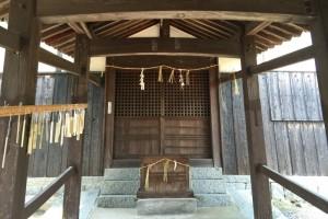拝殿ー鯉喰神社ー