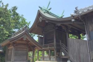 本殿ー鯉喰神社ー