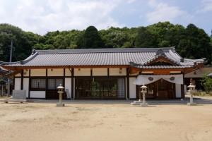 長床ー熊野神社拝殿ー