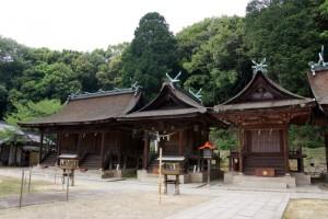 第3殿:第1殿・第2殿ー熊野神社ー