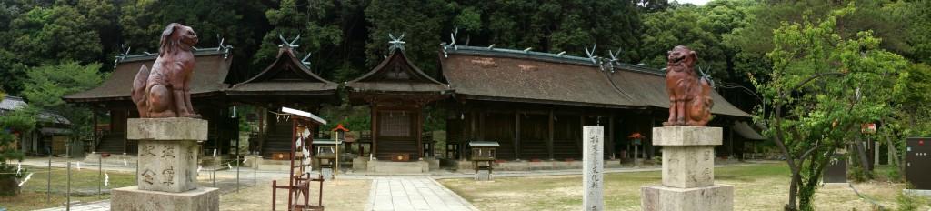 熊野神社ー第1殿~第6殿