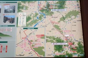 倉敷歴史の道地図
